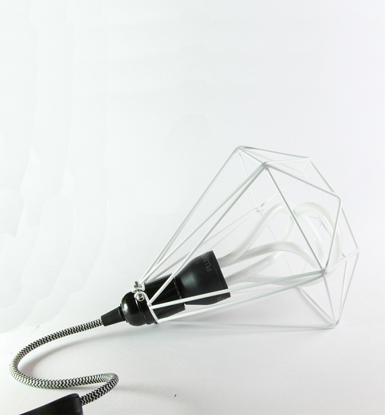 White Diamon Cage Light