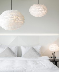 white interiors vita feather lights