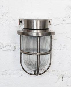 simon bulkhead light silver