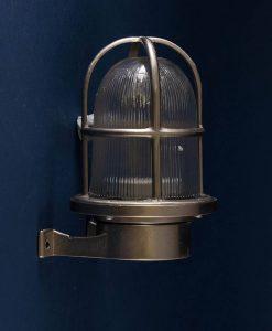 Bulkhead light Simon silver