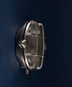 Bulkhead Light Mark Silver