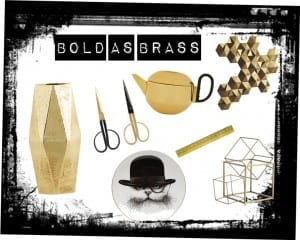 Bold As Brass Interior Accessories
