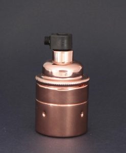 E27 Light Bulb Holder Copper Lamp Socket