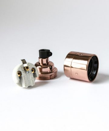 E27 Copper Lamp Socket