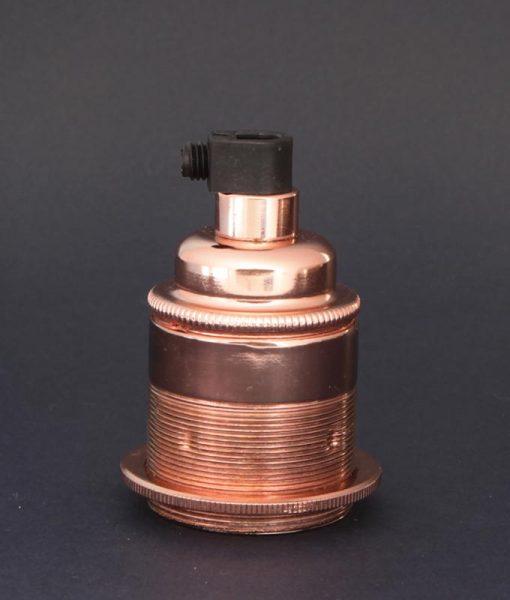 E27 Light Bulb Holder Threaded Copper Lamp Holder