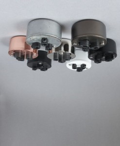 MULTI OUTLET CONDUIT CEILING ROSES Various Finishes