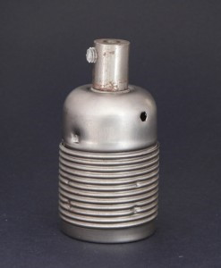 E27 Light Bulb Holder / Lamp Holder in Raw Steel