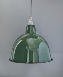 Green Enamel Pendant Light Stourton Ceiling Light