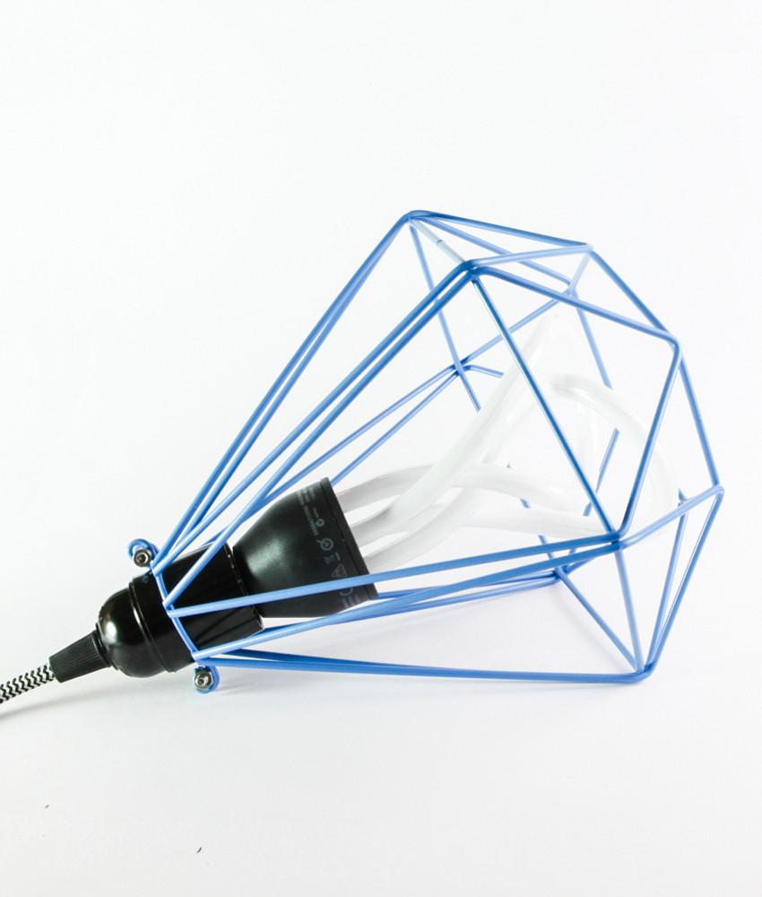 Greek Blue Diamond Light Cage