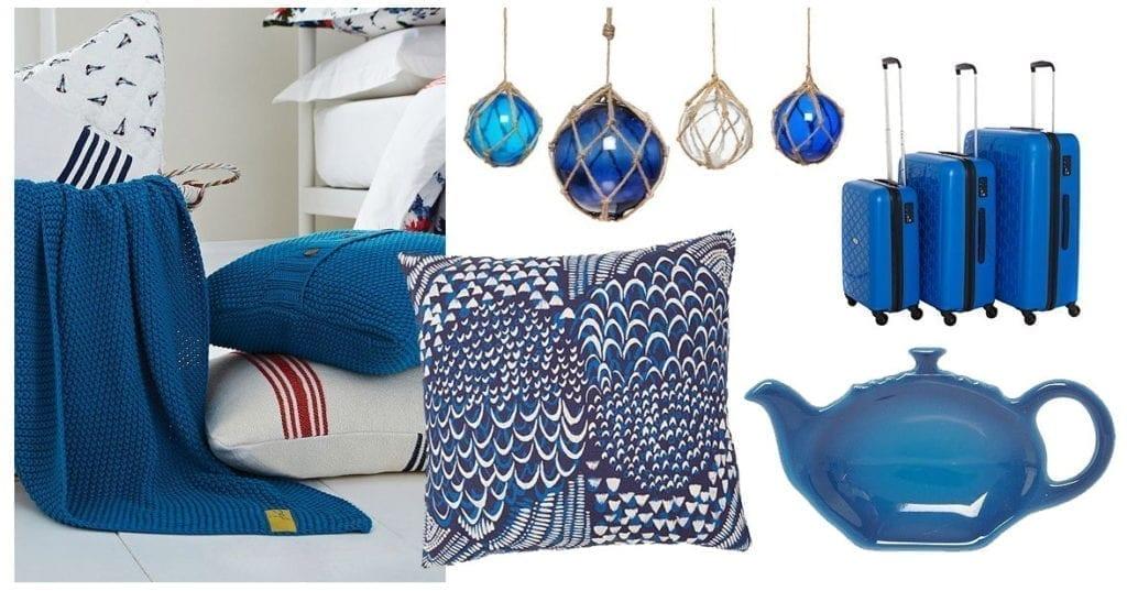 Greek Blue Home Accessories
