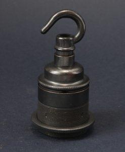 E27 antique bronze lamp socket