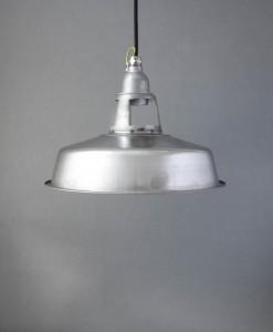 farsley raw steel pendant light