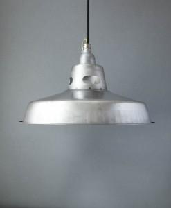 Raw Steel Pendant Light Kirkstall Ceiling Light