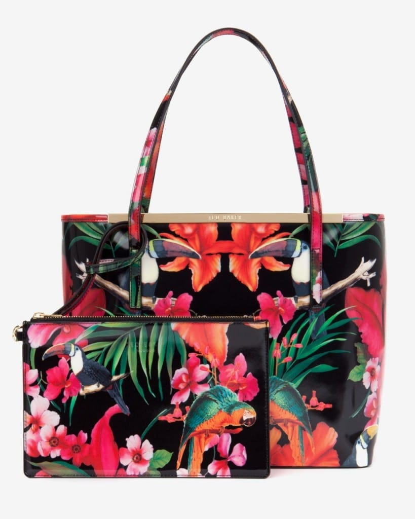 Tropical Trend Handbag by Ted Baker