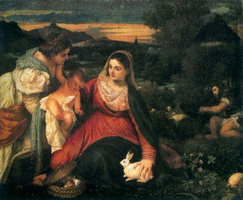 madonna-and-child-with-st-catherine-and-a-rabbit