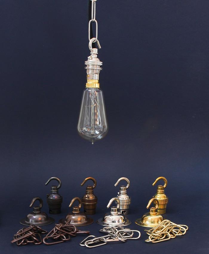 hooked light bulb holders