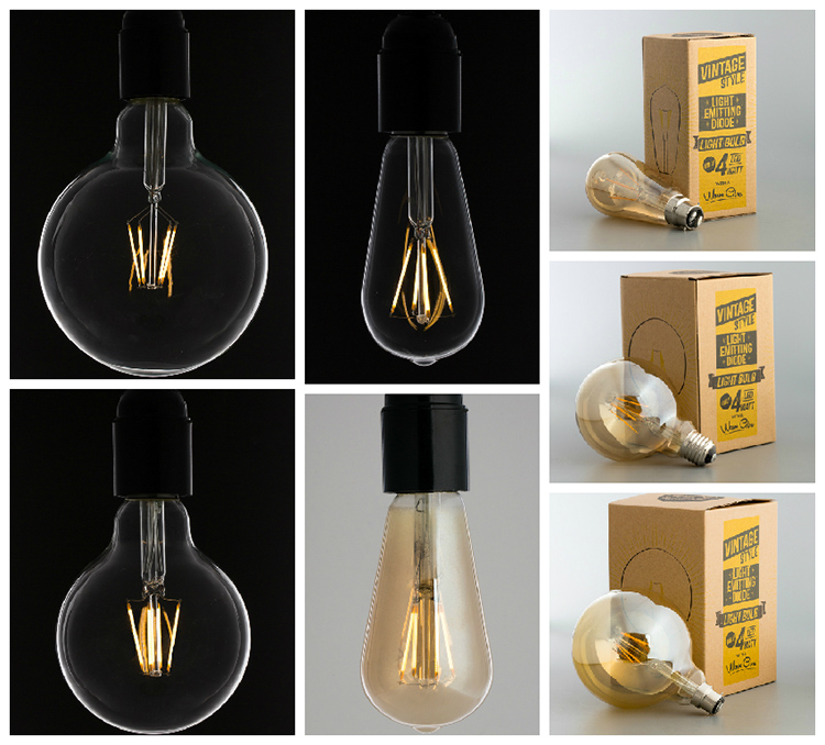 led filament bulbs