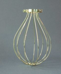 Fool's Gold Balloon Cage Light Shade Gold