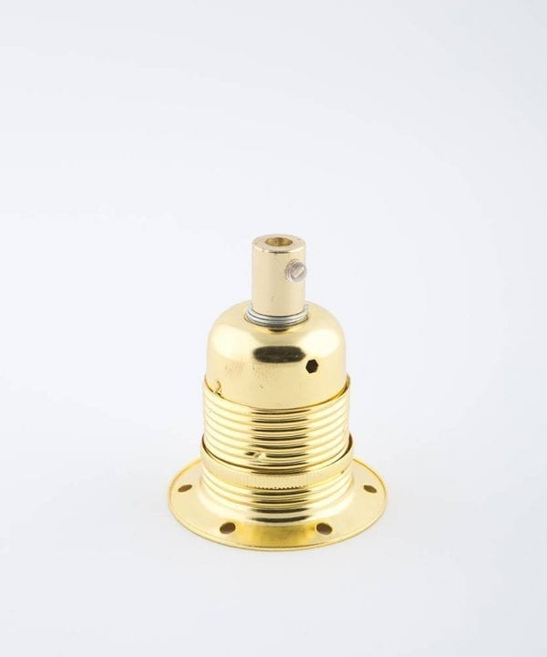 fool's gold e27 domed light bulb holder