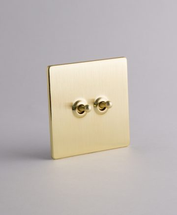 toggle light switch 2 toggle gold