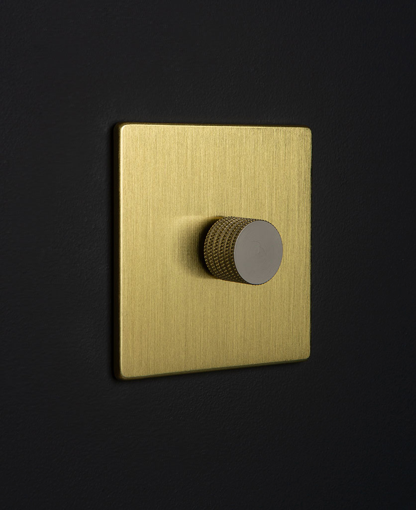 gold & silver single dimmer