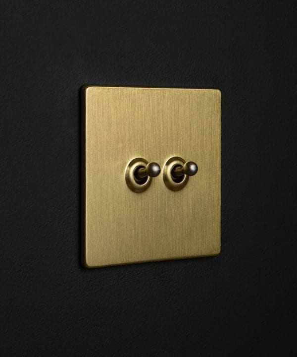 Gold Double Toggle Silver Toggles