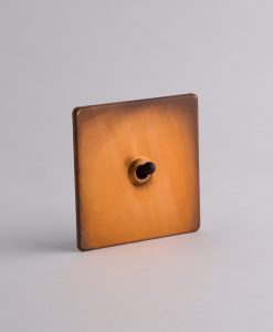 toggle light switch 1 toggle copper & black