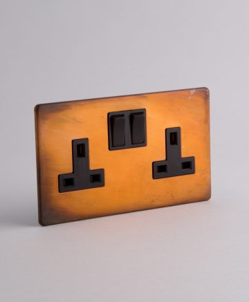 double plug socket
