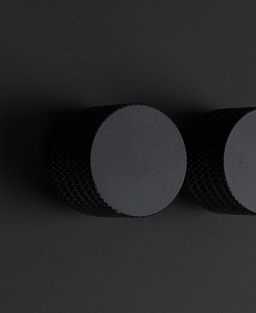 black and black 2g standard double dimmer
