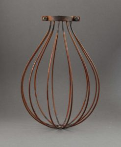 Cage Light Shade Balloon Tarnished Copper