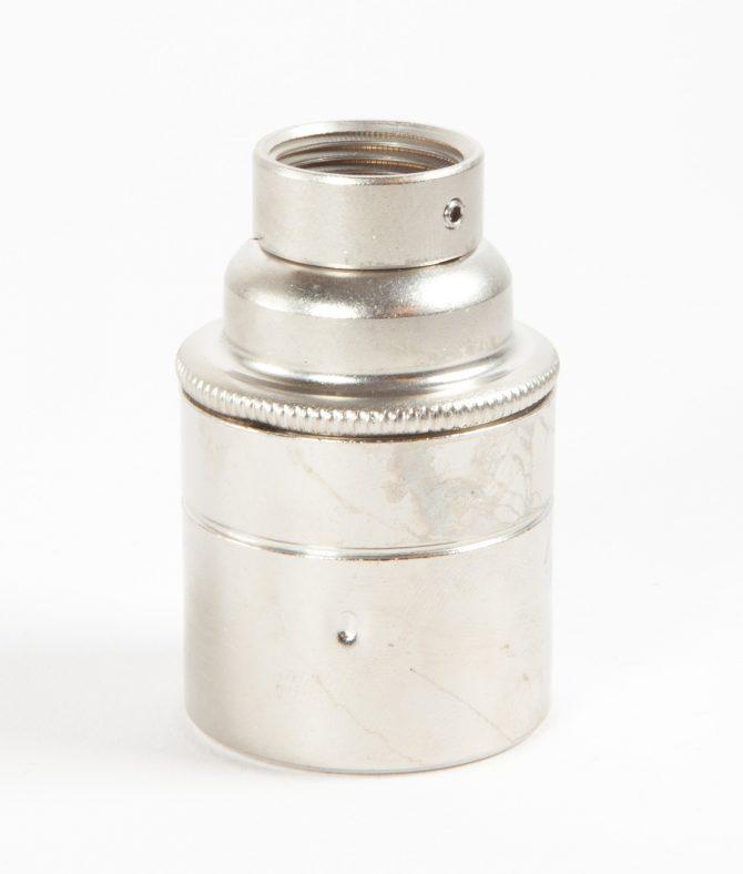 forgotten silver 20mm conduit pipe bulb holder