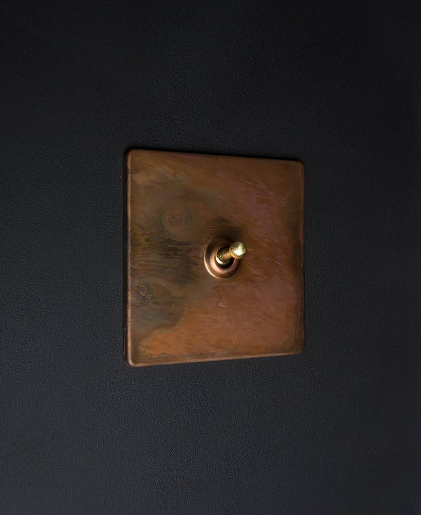 copper & gold toggle