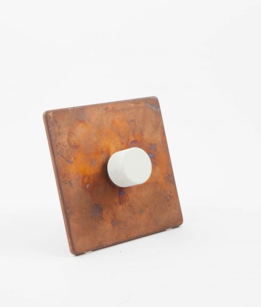 designer dimmer switch single copper white light switch. Black Bedroom Furniture Sets. Home Design Ideas