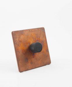 Designer Dimmer Switch Single Copper & Black