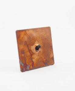 Toggle Light Switch 1 Toggle Copper & Black