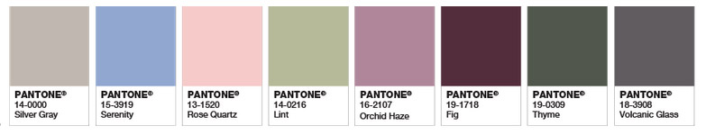 deep pantone colours