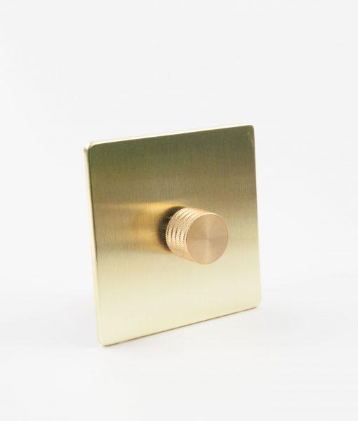 designer dimmer switch single black gold dimmer switch. Black Bedroom Furniture Sets. Home Design Ideas