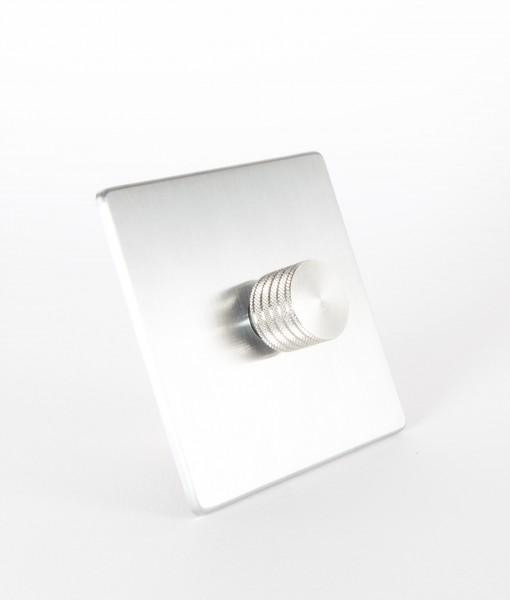 designer dimmer switch single silver silver dimmer switch. Black Bedroom Furniture Sets. Home Design Ideas