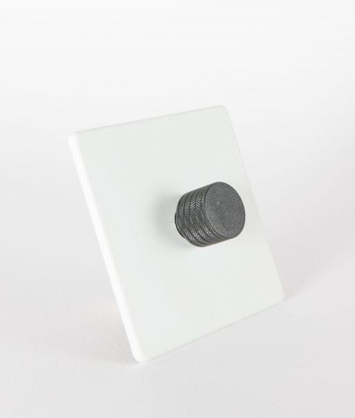 designer dimmer switch single white black light switch. Black Bedroom Furniture Sets. Home Design Ideas