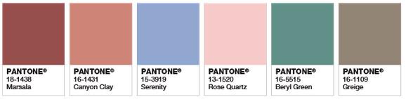 earthy pantone colours