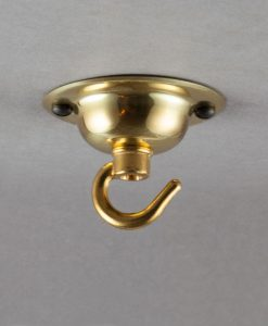Hooked Gold Domed Ceiling Rose