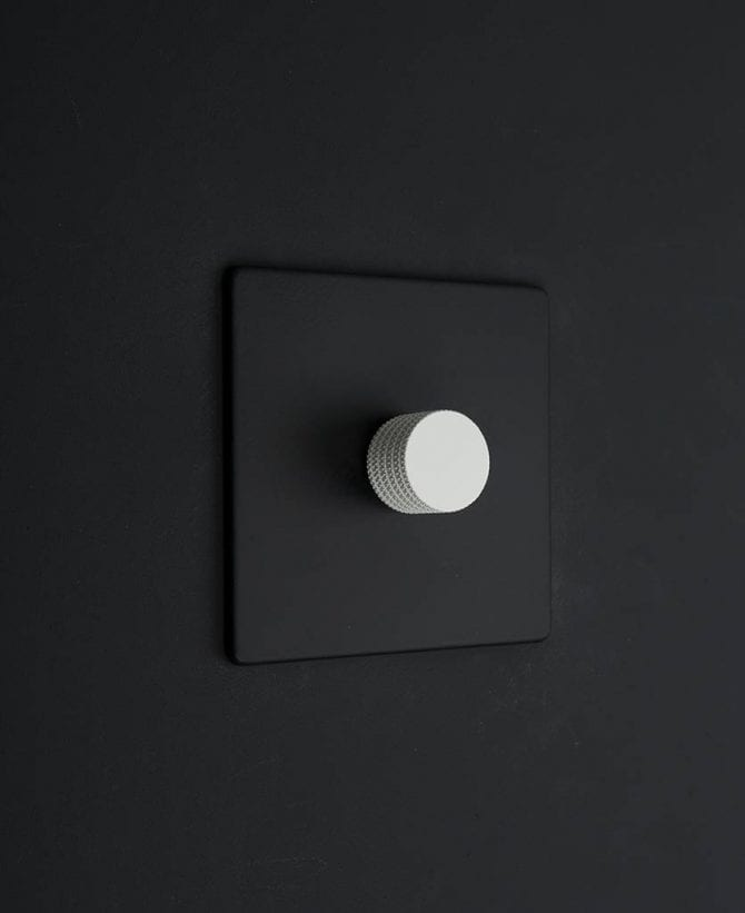 single dimmer black & white