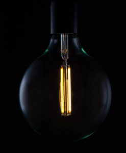 EXTRA LARGE GLOBE Squirrel Cage Filament Vintage Glow