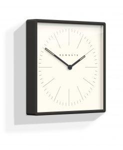 Mr Robinson wall clock matte black