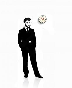 bubble_wall_clock_white