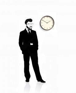 mr_clarke_dot_wall_clock