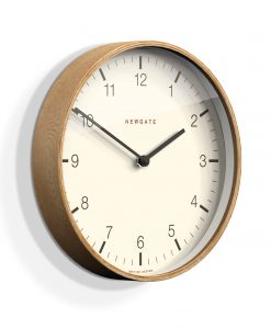 NEWGATE NUMBER DIAL MR CLARKE MINIMALIST WALL CLOCK | Neutral