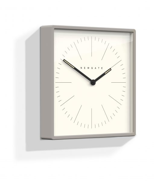 GREY MR ROBINSON WALL CLOCK | Grey Metal Frame