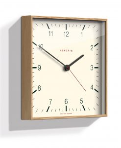 NEUTRAL MR THOMAS WALL CLOCK | Neutral Square Clock