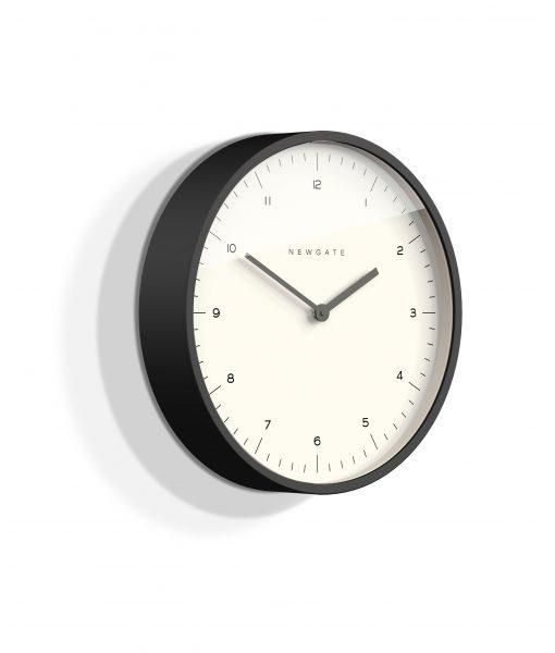 BLACK MR TURNER WALL CLOCK | Modern Minimalist